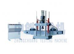 钢板弹簧疲劳试验机结构图