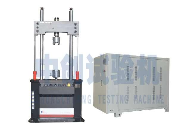 疲劳试验机在牵引悬挂橡胶减振弹性元件的应用
