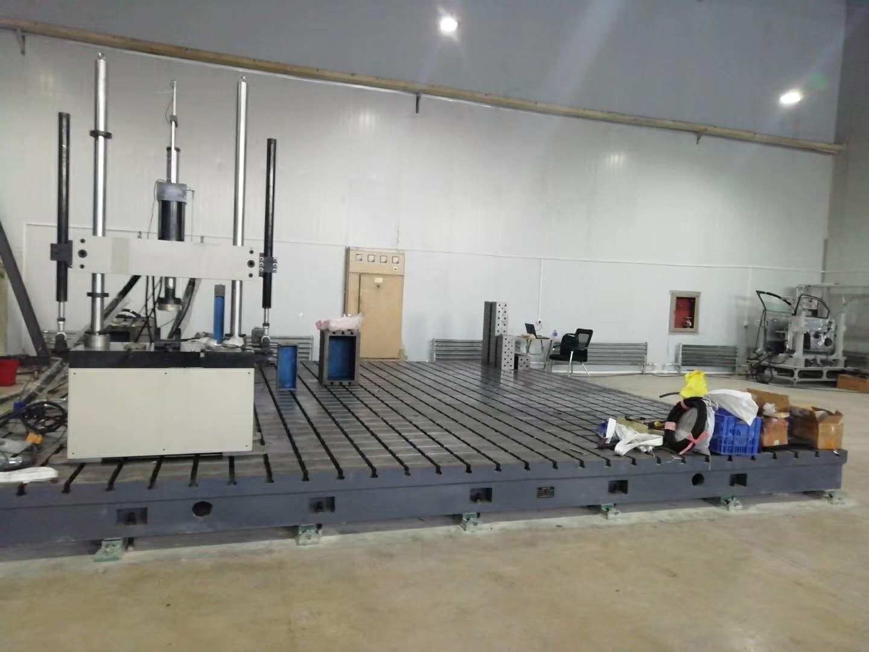四分之一悬架总成试验台空气弹簧检测设备及试验方法
