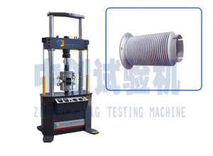 PWS-50kN波纹管疲劳试验机  电液伺服 陕西西安