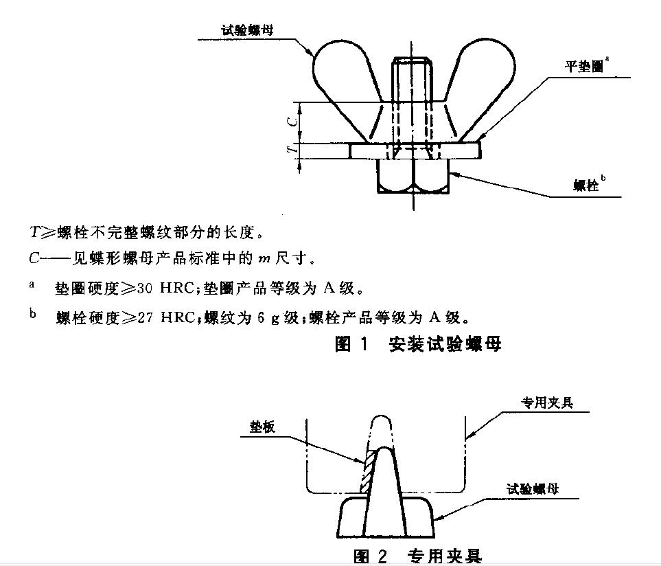 蝶形螺母保证扭矩载荷测试机试验方法